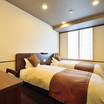 [東館]お天気の良い日にはお部屋からは富士山を望むツインルーム