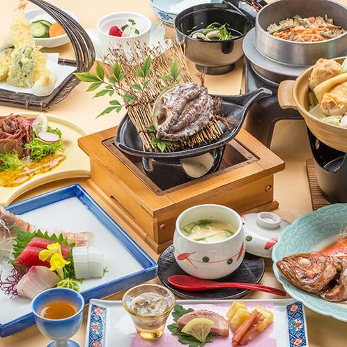[季節の会席料理]冬の味覚たっぷりの旬会席料理一例