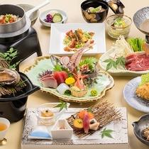 [季節の会席料理]秋の味覚たっぷりの旬会席料理一例