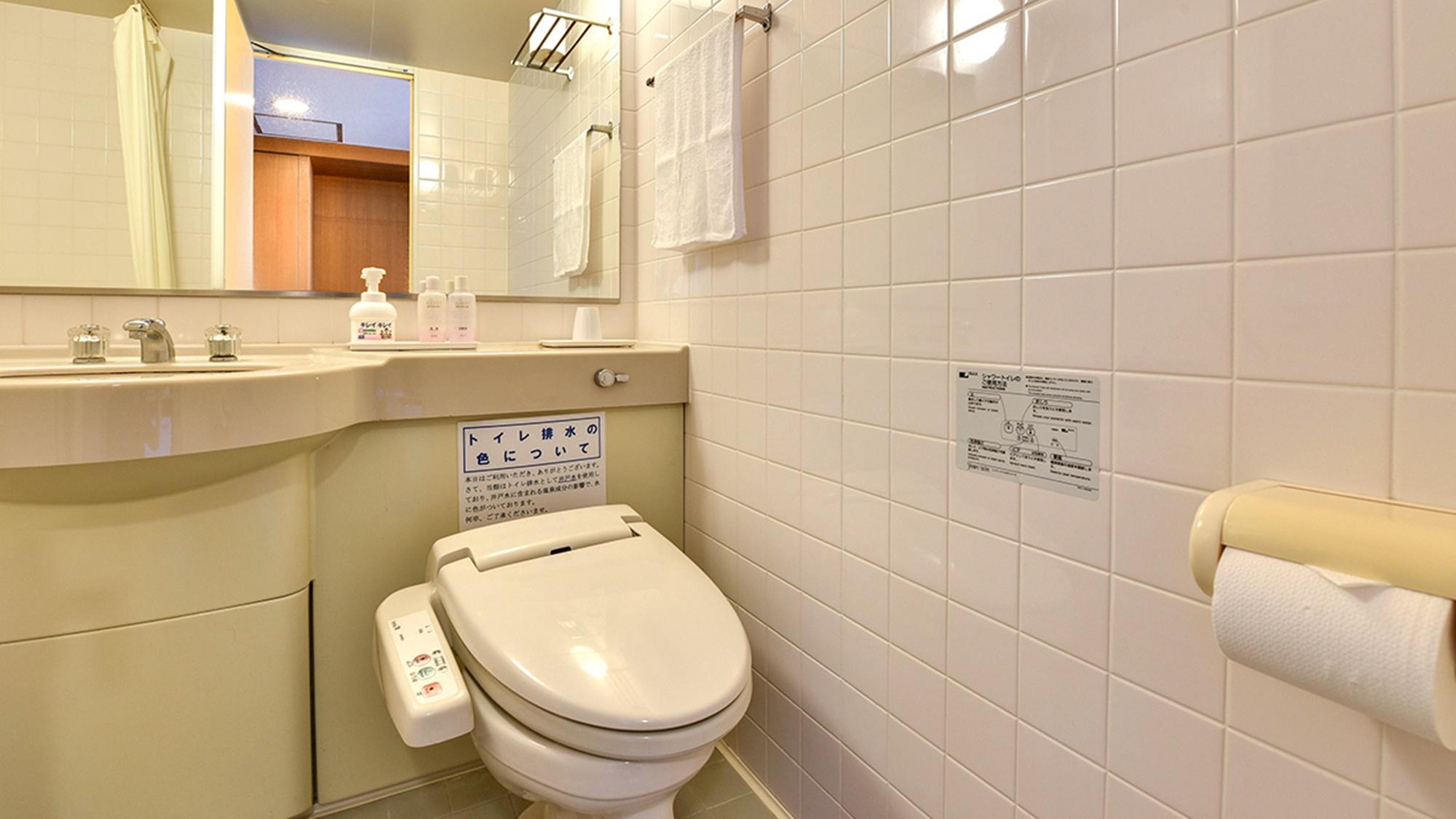 *【洋室】全室バス・トイレが設置されています。
