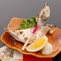 <お食事一例>有明海目の前のロケーション!鮮度の良いお魚をお召し上がり頂けます。