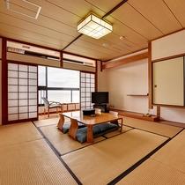 *【和室】心地よい畳の上で、ゆったりとしたひとときをお過ごし下さい