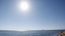 【周辺】イルカが暮らす有明海。当館そばからウォッチングツアーの船が出ています