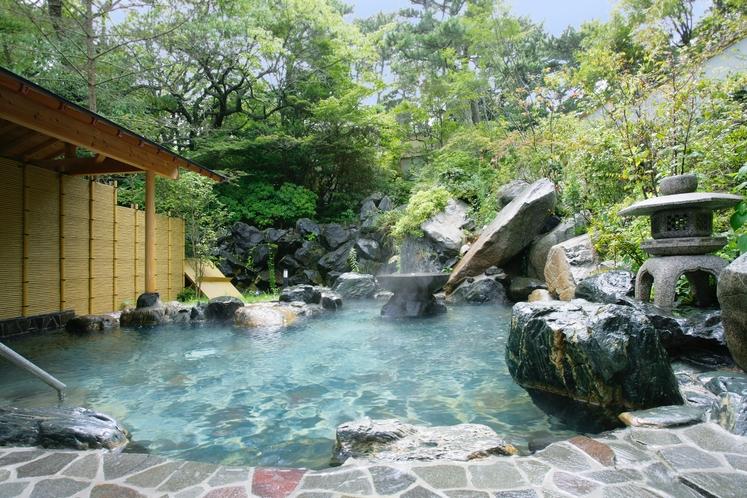 和風の宿本館 露天風呂(ご婦人)