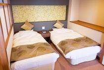 ベッドをご希望のお客様、またお部屋で和洋両方をお楽しみになりたい方に最適なお部屋です。