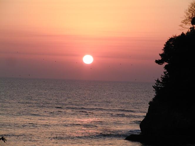 五浦海岸の日の出