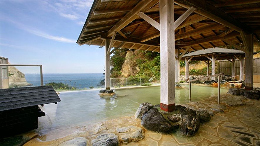 【温泉】太平洋眺望の露天風呂