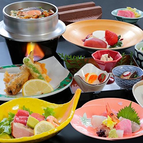 海鮮料理(直前予約、4名以上団体)