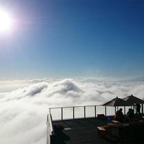 雲海発生率67%の竜王マウンテンパーク SOLA Tweace