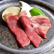 信州牛料理の一例