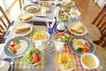 さわやかな朝に朝食をどうぞ!(スープは日替わり)