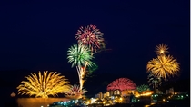例年5月~10月末まで毎日開催!洞爺湖ロングラン花火大会