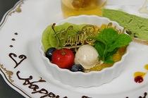 記念日デザート一例