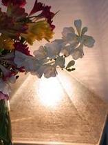 館内のお花