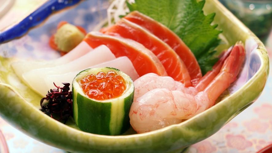 【夕食】お刺身