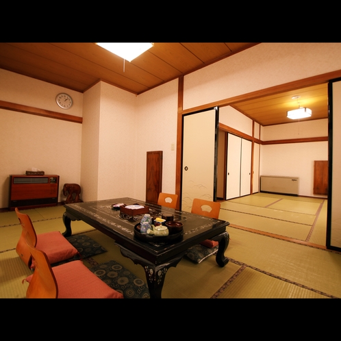 【若菜】和室二間[8畳+6畳](トイレ・洗面)