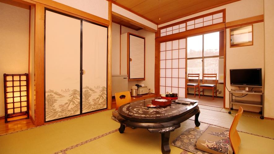 【朝霧】2名様専用♪距離も縮まる和室6畳(トイレ・洗面・板縁)