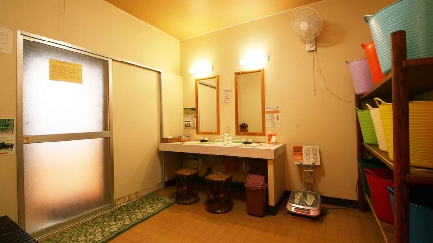 浴室は男女入替制にしております。