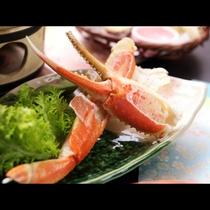 【夕食】ずわい蟹