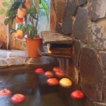 期間限定天然温泉リンゴ風呂(貸切制・予約不要)