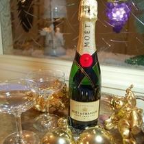 記念日シャンパン