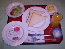 【ご朝食メニュー】