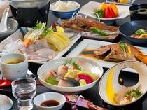 ■夕食/ゆめ島 基本会席■(一例)
