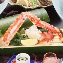 【特選コース】食べ応えばっちり!「鱈場蟹の小次郎蒸し」