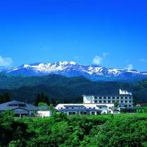 ☆瑞泉閣と栗駒山