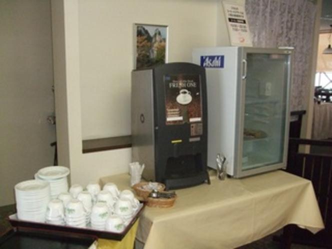 ウェルカムデザート&コーヒー