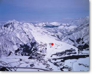 岩原スキー場全体