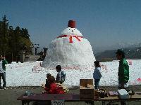 【アルプ】春の雪祭り