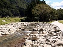 土樽自然公園 川