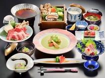 レディースプランのお食事(例)