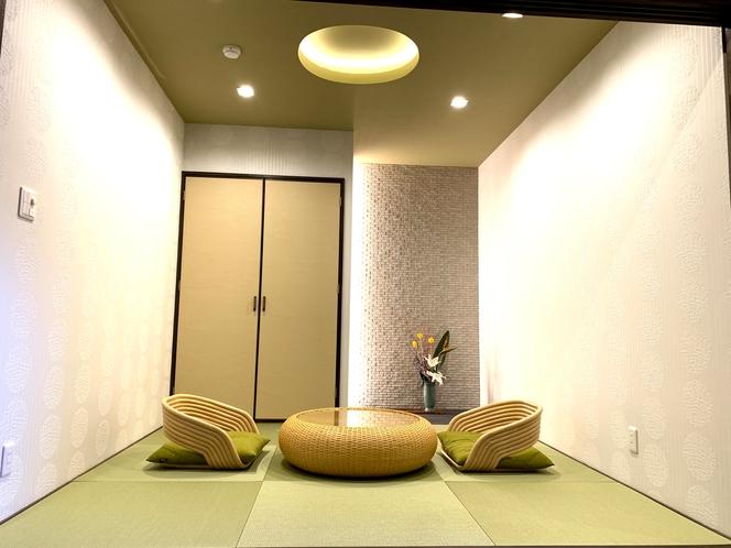漱石の間(露天風呂付客室)