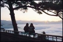 国見ケ丘からの素晴らしい雲海