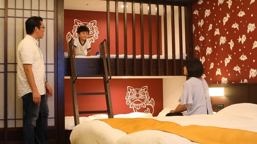 お子様専用2段ベッド