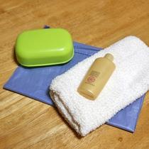 *付近の温泉をご利用される際は、タオル・石鹸・シャンプーをお貸しいたします。