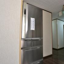 *自由に使える共有冷蔵庫もございます。