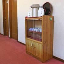 *廊下にはお茶・お湯のセットをご用意しております♪ご自由にお使い下さいませ