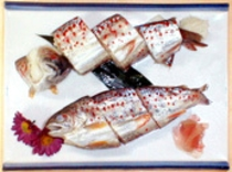 アメゴ姿寿司。
