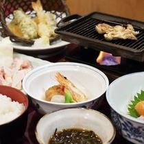 *【夕食全体例】旬の食材を大切にした料理の数々をご堪能ください。
