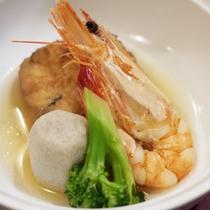 *【夕食一例】素材本来の味を楽しめる煮物。