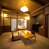 【別邸 野蒜】露天風呂付き離れ和洋室 和室