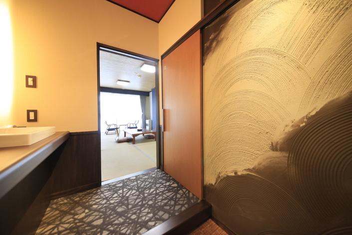 2階リニューアル部屋(青) 洗面2