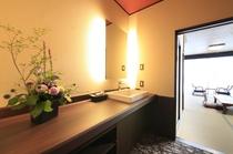 2階リニューアル部屋(青) 洗面1