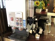 ロビーカフェのコーヒーマシン1