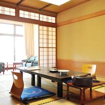 【スタンダード客室】10畳和室ゆったり寛ぎのお部屋(一例)