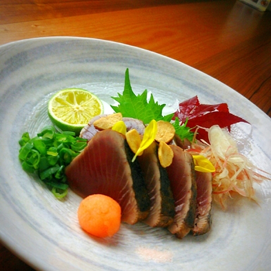【食#徳島あるでないで】◆夕食付き◆地元産の新鮮な魚介を堪能!夕食のみだから早朝出発にも◎