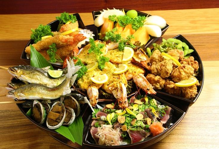 【皿鉢料理】要予約でご宴会料理もできます。